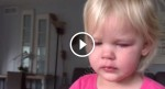 Toddler wakes up in a really bad mood. Now WATCH when she sees her baby sister…
