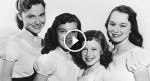 These four sisters appeared LIVE on television 60 years ago, but keep your eyes on the youngest…