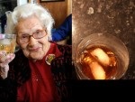 A GLASS OF WHISKEY A DAY KEEPS DOCTOR AWAY! SEE HOW SHE HAS REACHED HER 100TH BIRTHDAY!