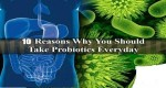 10 REASONS WHY YOU SHOULD TAKE PROBIOTICS EVERYDAY
