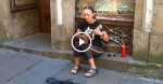 This Street Performer Singing 'Ave Maria' Will Make Your Entire Body Tingle