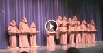 """Silent Monks"" Stand Onstage For The Talent Show, Hilariously Sing ""Hallelujah"""