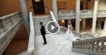 Groom Waits For Bride On Wedding Day, Has Emotional Reaction When He Sees Her For The First Time