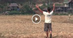 Man Yells Out Into The Distance. Just Wait Until You See Who Answers His Call… Amazing!