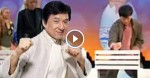 Jackie Chan Breaks 12 Concrete Blocks Without Breaking The Egg In His Hands?