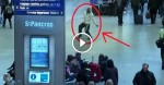 It's A Normal Day At This Airport, Until This Man Steps Out Of The Crowd And Does THIS