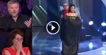He Puts A Curtain In Front Of Her. When He Pulls It Away Seconds Later, The Judges Are Amazed!