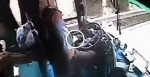 A Flying Piece Of Metal Hits This Bus Driver. What He Does Before He Passes Away? INCREDIBLE.