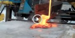 They Pour Lava Onto Ice. What It Did Completely SHOCKED Them! They Had NO Idea!