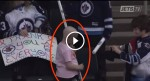 He Saw A Sick Girl At A Hockey Game. What This Little Boy Does For Her Will Melt Your Heart.