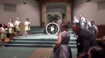 A Bride Is Walking Down The Aisle. Then She Reveals THIS Surprise. Everyone Is Stunned Silent!