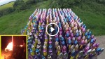 This Man Has 300 Rockets, When He Sets Them Off ALL AT ONCE? Oh My God!
