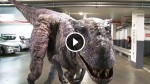 'The world's most realistic dinosaur' Scare The Crap Out of These Unsuspecting People! Hilarious!