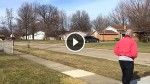 Old Lady Walks to The End of Her Driveway, And Waits. Now Keep an Eye on The Left Side of The Screen!