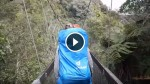 Four French Hikers Were Crossing A Bridge In New Zealand When Things Took A Terrifying Turn!