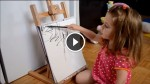 This Little Girl is Doing Some Drawings, But Wait To See What Happens When Mom Joins in!