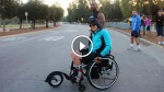 This Extra Wheel On His Wheelchair Can Be A Life Changing Innovation! Genius!