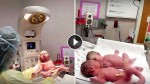 This Newborn Baby Won't Stop Crying. But When They Put Him With His Twin Sister? AMAZING!