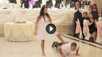 Newlyweds First Dance is EPIC! Just Wait for Dad…