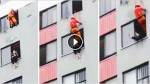 Brave Fireman Does The Unthinkable To Stop A Suicidal Woman From Jumping …WOW