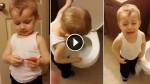 This Little Boy's At Peace With His Pet's Death …Until He Flushes It