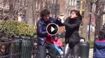 People Stood By And LAUGHED When They Saw This Man Abused By Girlfriend. But When He Hits Her Back? OMG!