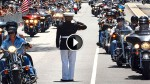 Every Year, This Lone Marine Holds Salute For Fallen Soldiers