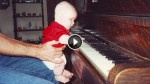 This Baby Was Born Without Eyes, But When Dad Gave Him A Piano?! WOW