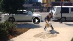 This Dude Pours Water on a Sidewalk, and the Effects are Amazing!