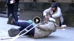 This Homeless Man Fell Down And EVERYONE Ignored Him. Until Finally …My Heart Shattered