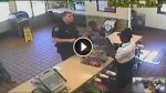 Security Camera Captures This Officer's Final Moments