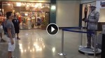 Boy Walks Up To A Statue In The Mall. What He Did Next Left Everyone Stunned!