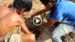 Two Boys Dig A Hole In The Ground Then Leave. Hours Later You'll Never Believe What's Inside