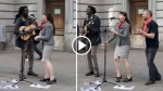 Street Busker Starts Singing Bob Marley Song, Then This Woman Takes The Mic And Shocks Everyone