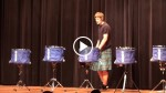 5 Teenagers Showcase An IMPRESSIVE Drum Line Performance And Win The Competition!
