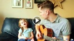 Dad Starts Playing Guitar For His 4 Year Old Girl, But When She Joins In? OMG, This Will Melt Your Heart