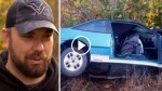 Old Wreck Caches Tow Truck Driver's Eye, But As He Steps Closer His Heart Stops