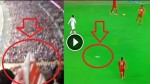 Paper Airplane Launched From TOP of Stadium Hits Player!