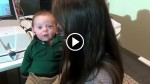 Deaf Baby Hears Mom's Voice For The First Time. His Reaction Will Melt Your Heart
