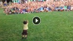 This Toddler Controlling An Entire Crowd Is The Cutest Thing On The Internet