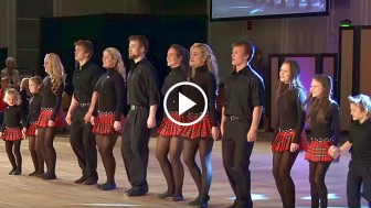 12 Siblings Line Up On Stage. When The Music Starts Keep An Eye On Their Feet… AMAZING!