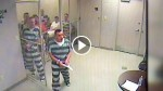 Jailer Suffers A Heart Attack. Camera Captures Inmates Break Out Of Cell And Do The INCREDIBLE