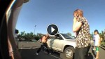 Two Babies Locked In A Dangerously Hot Car Got Saved By A Group Of Skaters